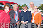 VINTAGE; Looking over some of the vintage cars and trucks on display at the Blennerville Treshing fair on Sunday L-r: Helen Slattery, Thomas Slattery, Dick Mason, (Tralee) and Sus and Mike McDonagh (Killarney)...................