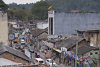 Busy street in Kandy City Centre, Sri Lanka, Asia. This is a photo of a busy street in Kandy City Centre, Sri Lanka, Asia.