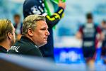 Nikolaj JACOBSEN (Trainer Rhein-Neckar Loewen) \ beim Spiel in der Handball Bundesliga, SG BBM Bietigheim - Rhein Neckar Loewen.<br /> <br /> Foto &copy; PIX-Sportfotos *** Foto ist honorarpflichtig! *** Auf Anfrage in hoeherer Qualitaet/Aufloesung. Belegexemplar erbeten. Veroeffentlichung ausschliesslich fuer journalistisch-publizistische Zwecke. For editorial use only.