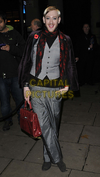 LONDON, ENGLAND - NOVEMBER 03: Lewiis Duncan Weedon attends the &quot;Dance 'Til Dawn&quot; press night performance, Aldwych Theatre, Aldwych, on Monday November 03, 2014 in London, England, UK. <br /> CAP/CAN<br /> &copy;Can Nguyen/Capital Pictures