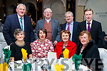 Pictured at the Kerry Supporters Social at Ballygarry House Hotel and Spa, Tralee, on Saturday night last, were front l-r: Ann Quane Ardfert, Helena Wrenn and Mary Wrenn (The Spa, Tralee) and Norma O'Connell (Kilmoyley). Back l-r: John Quane (Kilmoyley), Jim Wrenn (Churchill) Michael Moriarty (Churchill) and John O'Connell (Kilmoyley).