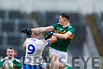 Jack Barry  Kerry in action against Gavin Doogan Monaghan during the Allianz Football League Division 1 Round 5 match between Kerry and Monaghan at Fitzgerald Stadium in Killarney, on Sunday.