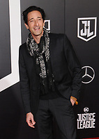 13 November  2017 - Hollywood, California - Adrien Brody. &quot;Justice League&quot; Los Angeles Premiere held at The Dolby Theater in Hollywood. <br /> CAP/ADM/BT<br /> &copy;BT/ADM/Capital Pictures