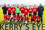 Dynamos  at the U14 Cup Tralee Dynamos V Camp at  Cahermoneen on Thursday