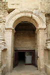 Israel, Jerusalem Old City, the Roman gate below Damascus gate