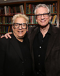 Ken Fallin and Rick Elice attend the Dramatists Guild Fund Salon With Rick Elice at the Cornell Club on March 6, 2017 in New York City.
