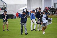 Phil Mickelson (USA) waves to the crowd as he makes his way down 6 during round 2 of the 2019 US Open, Pebble Beach Golf Links, Monterrey, California, USA. 6/14/2019.<br /> Picture: Golffile | Ken Murray<br /> <br /> All photo usage must carry mandatory copyright credit (© Golffile | Ken Murray)