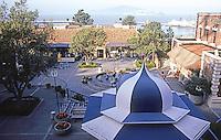 San Francisco: Ghirardelli Square--Remodeled 1962-1967. Wurster, Bernardi & Emmons.  Landscaping: Lawrence Halprin.