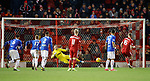 06.02.2019 Aberdeen v Rangers: Sam Cosgrove scores from the spot