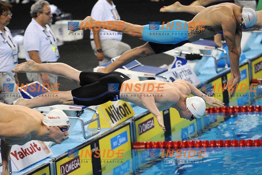 GOVOROV Andrij UKR Men's 50 Freestyle <br /> Doha Qatar 04-12-2014 Hamad Aquatic Centre, 12th FINA World Swimming Championships (25m). Nuoto Campionati mondiali di nuoto in vasca corta.<br /> Photo Andrea Staccioli/Deepbluemedia/Insidefoto