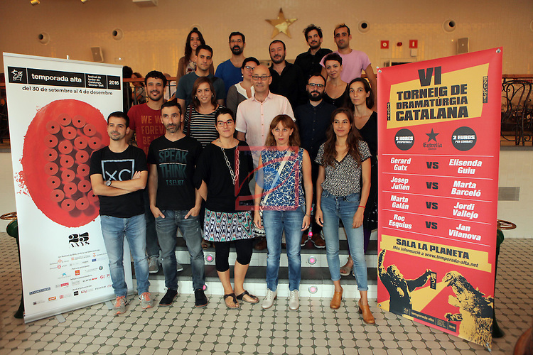 XXV Temporada Alta Festival de Tardor de Catalunya, Girona/Salt.<br /> Presentacio.