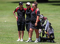 Waikato watch nervously. Day One of the Toro Interprovincial Women's Championship, Sherwood Golf Club, Whangarei,  New Zealand. Thursday 7 December 2017. Photo: Simon Watts/www.bwmedia.co.nz