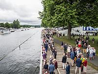 Henley Royal Regatta, Henley on Thames, Oxfordshire, 28 June - 2 July 2017.  Wednesday  12:29:55   28/06/2017  [Mandatory Credit/Intersport Images]<br /> <br /> Rowing, Henley Reach, Henley Royal Regatta.<br /> <br /> Stewards Enclosure