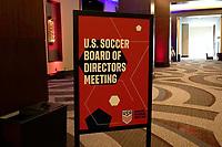 NASHVILLE, TN - FEBRUARY 14: Nashville, TN - Thursday February 14, 2020: U.S. Soccer's Annual General Meeting (AGM) at the Omni Hotel in Nashville, TN at Omni Hotel on February 14, 2020 in Nashville, Tennessee.