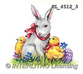 EASTER, OSTERN, PASCUA, paintings+++++,KL4512/5,#e#, EVERYDAY ,rabbits