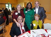 STANFORD, CA - DECEMBER 7, 2014-Stanford Football team banquet at the Arrillaga Alumni Center on Stanford University campus.
