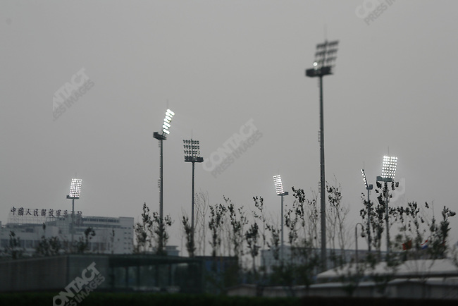 Wukesong Baseball field, Summer Olympics, Beijing, China, August 19, 2008