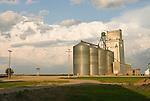 Metal grain elevators, steel storage tanks