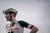 Tom Dumoulin (NED/Sunweb) pre-race<br /> <br /> 104th Li&egrave;ge - Bastogne - Li&egrave;ge 2018 (1.UWT)<br /> 1 Day Race: Li&egrave;ge - Ans (258km)