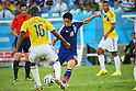 Shinji Kagawa (JPN), <br /> JUNE 24, 2014 - Football /Soccer : <br /> 2014 FIFA World Cup Brazil <br /> Group Match -Group C- <br /> between Japan 1-4 Colombia <br /> at Arena Pantanal, Cuiaba, Brazil. <br /> (Photo by YUTAKA/AFLO SPORT)