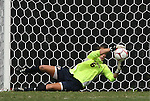 20 September 2009: Auburn's Amy Howard (6) makes a save. The University of North Carolina Tar Heels played the Auburn University Tigers to a 0-0 tie after overtime at Koskinen Stadium in Durham, North Carolina in an NCAA Division I Women's college soccer game.