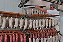 01/12/14 - PARLAN - CANTAL - FRANCE - Entreprise de salaisons LABORIE. Preparation des saucisses et saucissons - Photo Jerome CHABANNE