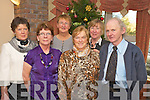 Pictured at the St Vincent de Paul lunch in Darby O'Gills on Sunday were Helen O'Leary, Patricia Lyne, Margaret Cremin, Teresa Darcy, Mary Healy and Dan Twomey.   Copyright Kerry's Eye 2008