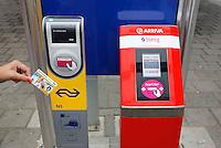 OV chip automaten van Arriva  en de NS