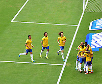 BRASILIA, DF, 07.09.2013 - 07.09.2013 - BRASIL X AUSTRÁLIA/AMISTOSO: Goleada em Brasília em partida amistosa entre Brasil x Austrália, no Estádio Nacional Mané Garrincha.(Foto: Ricardo Botelho / Brazil Photo Press).