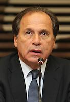 ATENCAO EDITOR: FOTO EMBARGADA PARA VEICULO INTERNACIONAL - SAO PAULO, SP, 28 NOVEMBRO 2012 - SEMINARIO BRASIL - POLONIA OPORTUNIDADES DE COOPERACAO BILATERAL - O  vice presidente da FIESP Benjamin Steinbruch, nesta quarta-feira (28), participou do Seminario Brasil-Polonia: Oportunidades de cooperacao bilateral, onde ouviu do ministro das relações da Polonia as oportunidades de  negocios, nos setores de transporte e infraestrutura, petroleo e gas, energia, defesa e serviços de off-shore, nessa quarta, 28. (FOTO: LEVY RIBEIRO / BRAZIL PHOTO PRESS)