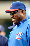 13 May 2005: Dusty Baker, Manager of the Chicago Cubs, prior to a game against the Washington Nationals where the visiting Cubs defeated the Nationals 6-3 to take the first game of the 3-game series at RFK Stadium in Washington, DC. Mandatory Photo Credit: Ed Wolfstein