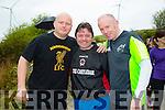PJ Houlihan,Jason Power and Neil Moran. at the Wilderness Challenge 'B Wildered' at Glanageenty Ballymacelligott on Saturday