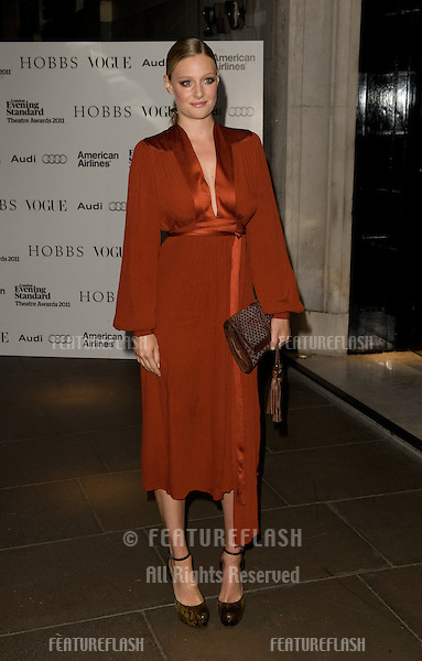 Romola Garai arriving for The Evening Standard Theatre Awards 2011, Savoy Hotel  London. 20/11/2011 Picture by: Simon Burchell / Featureflash