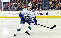 Vancouver Canucks rookie Elias Pettersson