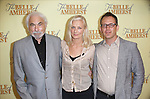 Producer Don Gregory, Joely Richardson and Director Steve Cosson attend the Meet & Greet for 'The Belle of Amherst' at the Shetler Studios on September 12, 2014 in New York City.
