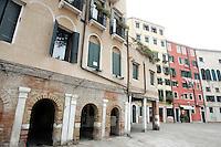 Uno scorcio del Campo del Ghetto Nuovo a Venezia.<br /> A view of the Jewish Campo del Ghetto Nuovo, in Venice.<br /> UPDATE IMAGES PRESS/Riccardo De Luca