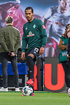 15.02.2020, Red Bull Arena, Leipzig, GER, 1.FBL, RB Leibzig vs SV Werder Bremen<br /> <br /> DFL REGULATIONS PROHIBIT ANY USE OF PHOTOGRAPHS AS IMAGE SEQUENCES AND/OR QUASI-VIDEO.<br /> <br /> im Bild / picture shows<br /> Theodor Gebre Selassie (Werder Bremen #23)<br /> <br /> <br /> Foto © nordphoto / Kokenge