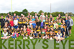 Colm Cooper and Kieran Donaghy of the Kerry team payed a visit to Austin Stacks summer camp at Caherslee on Friday.