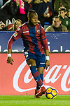 Cheik Doukoure of Levante UD in action during the La Liga 2017-18 match between Levante UD and Real Madrid at Estadio Ciutat de Valencia on 03 February 2018 in Valencia, Spain. Photo by Maria Jose Segovia Carmona / Power Sport Images