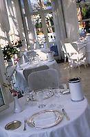 "Europe/Italie/Côte Amalfitaine/Campagnie/Env de Sorrente/S. Agnello di Sorrento : Grand Hôtel ""Cocumella"" - Le restaurant"