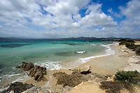 Strand von Golfo Aranci, Gallura, Provinz Olbia-Tempio, Nord Sardinien, Italien