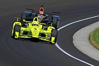 Verizon IndyCar Series<br /> Indianapolis 500 Carb Day<br /> Indianapolis Motor Speedway, Indianapolis, IN USA<br /> Friday 26 May 2017<br /> Simon Pagenaud, Team Penske Chevrolet, James Hinchcliffe, Schmidt Peterson Motorsports Honda<br /> World Copyright: F. Peirce Williams
