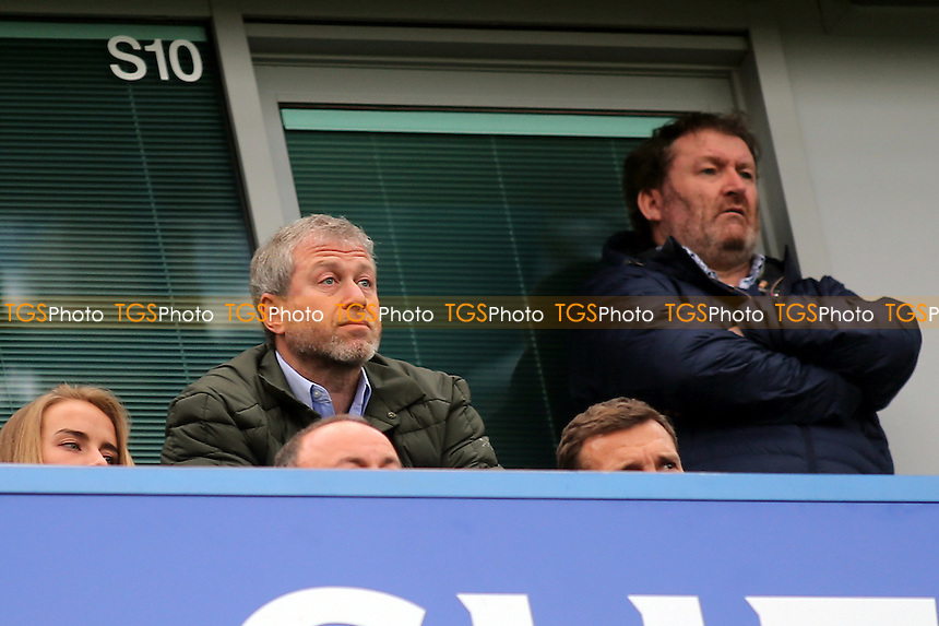 Chelsea Owner, Roman Abramovich looks on during Chelsea vs Arsenal, Premier League Football at Stamford Bridge on 4th February 2017