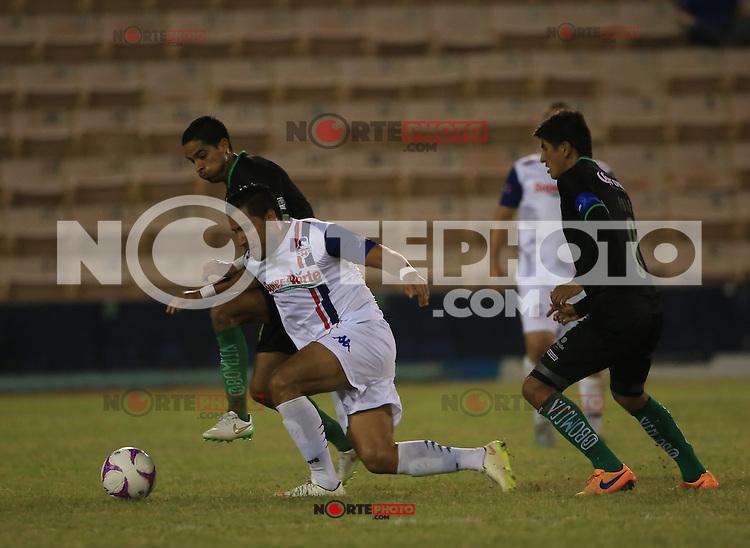 , durante el partido de futbol entre Venados FC de Yucatan vs Cimarrones . Jornada 13 de la Liga Ascenso MX, Estadio Hectro Espino a  30 oct 2015