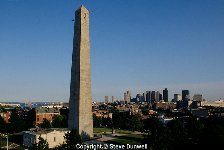 Bunker Hill monument, Charlestown, MA (architect = Solomon Willard, 1825-1843)