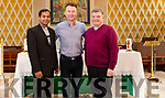 Michael English pays a visit to Canon Tony Mullins & Fr. Shoji Varghese prior to the upcoming concert that will be held in Church of the Assumption, Abbeyfeale on Friday 6th. December.