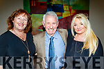 Enjoying the Causeway Comholtas in the Ballyroe Heights hotel, Tralee last Saturday night were L-R Kay O'Connell, Tom Lawlor with Marlyn Lucid.