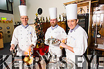Culinary lecturers  from the IT Tralee preparing for Christmas recipes from left: TJ O'Connor, Maurice O'Brien and Dan Browne