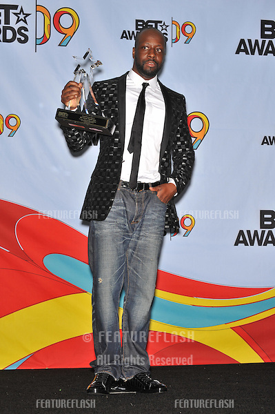 Wyclef Jean at the 2009 BET Awards (Black Entertainment Television) at the Shrine Auditorium..June 28, 2009  Los Angeles, CA.Picture: Paul Smith / Featureflash