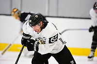 September 15, 2017: Boston Bruins left wing Brad Marchand (63) skates during the Boston Bruins training camp held at Warrior Ice Arena in Brighton, Massachusetts. Eric Canha/CSM
